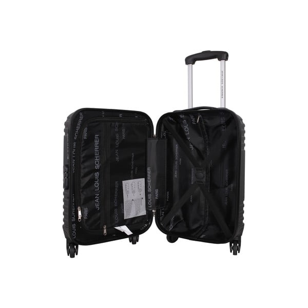 Kufor s príručnou taškou Case Jean Louis Scherrer Black