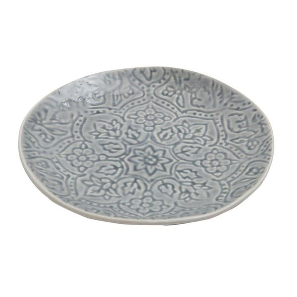 Keramický tanier Botanic Dusty Blue, 22 cm
