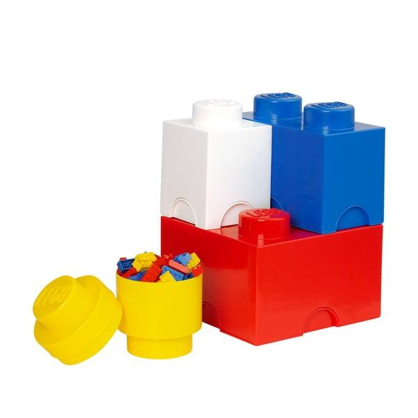 Sada 4 úložných boxov LEGO Multi-Pack