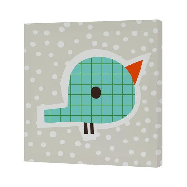 Nástenný obrázok Drops Bird, 27x27 cm