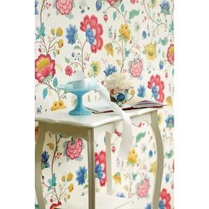 Tapeta Pip Studio Floral Fantasy, 0,52x10 m, biela