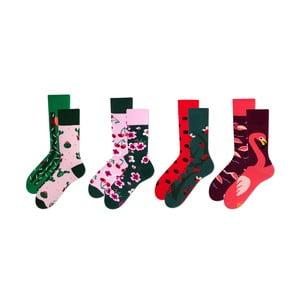 Sada 4 párov ponožiek v darčekovom balení Many Mornings Blossom, veľ. 43–46