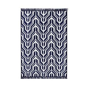 Modro-biely obojstranný koberec Homedebleu Herakles, 120×180cm