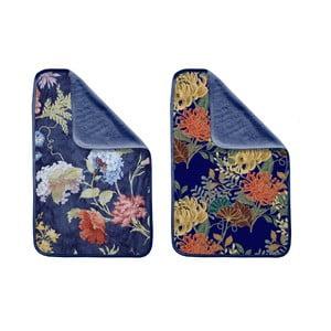 Sada 2 uterákov Madre Selva Tierra Blue Flowers