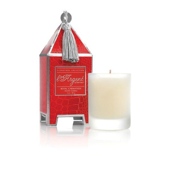 Sada 2 sviečok Royal Carnation, 15-20 hodín horenia