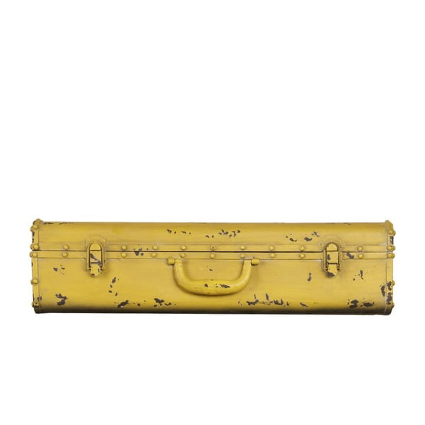 Polica v tvare kufra Yellowo