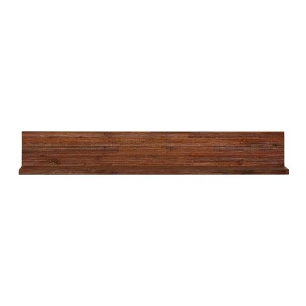 Nástenná polička z masívneho akáciového dreva Støraa Congo