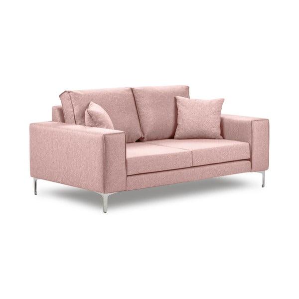 Ružová dvojmiestna pohovka Cosmopolitan Design Cartagena