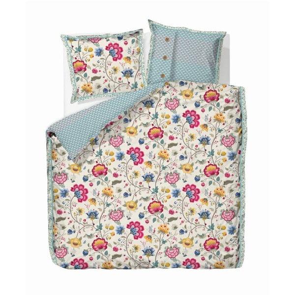 Béžové obliečky Pip Studio Floral Fantasy, 135x200 cm