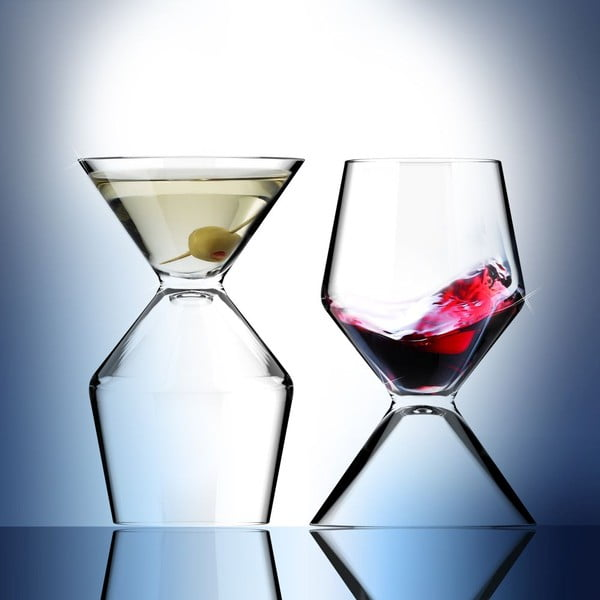 Obojstranný pohár Vino Tini