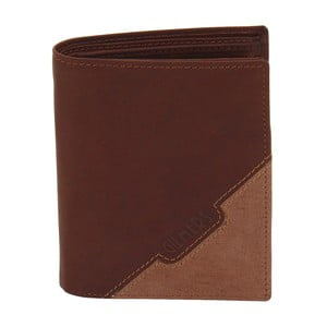 Hnedá kožená peňaženka Friedrich Lederwaren Cognac Gill