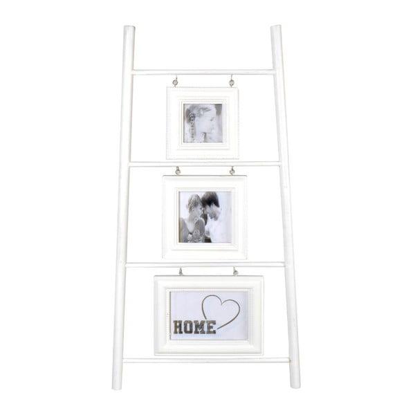Trojitý fotorámček White Ladder