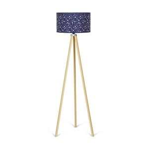Stojacia lampa Kate Louise Naturel Navy