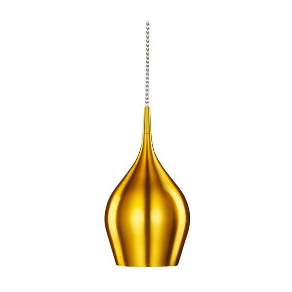 Stropné svetlo Searchlight Vibrant, 12 cm, zlatá