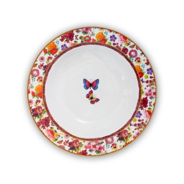 Porcelánový hlboký tanier Melli Mello Isabelle, 21.5 cm