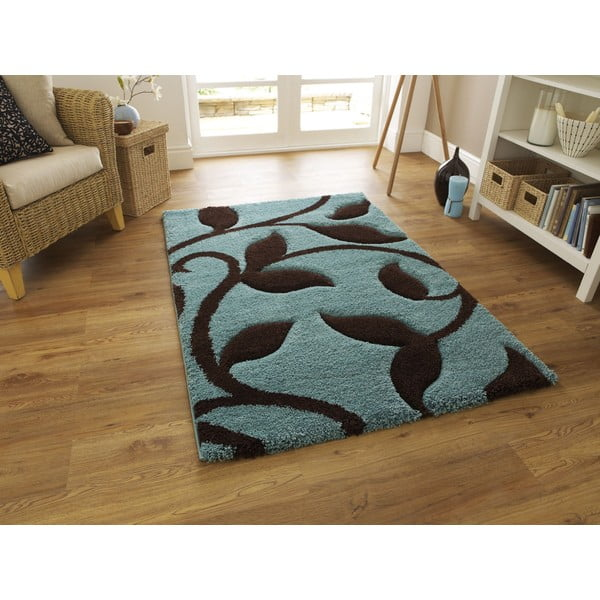 Koberec Fashion Blue Brown, 160x220 cm