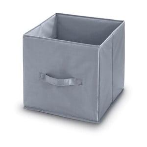 Sivý úložný box Domopak