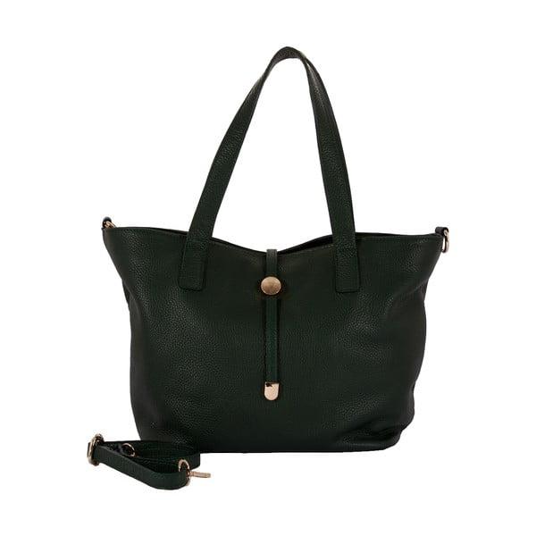 Zelená kabelka z pravej kože Andrea Cardone Matteo