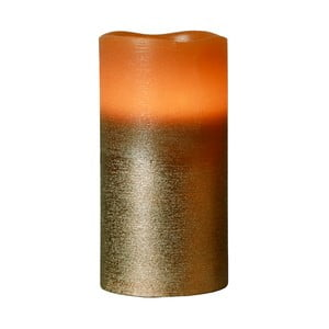 Hnedá LED sviečka Orange Best Season, 15cm