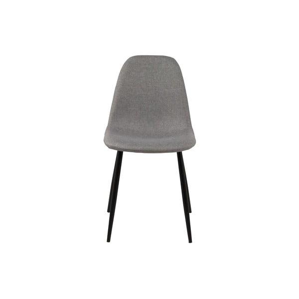 Jedálenská stolička Wilma, svetlosivá