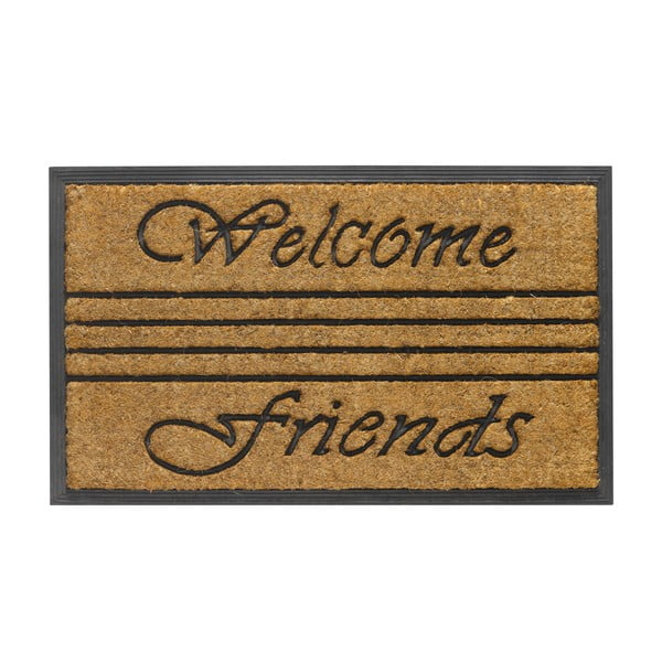 Rohožka Hamat Welcome Friends, 45x75cm