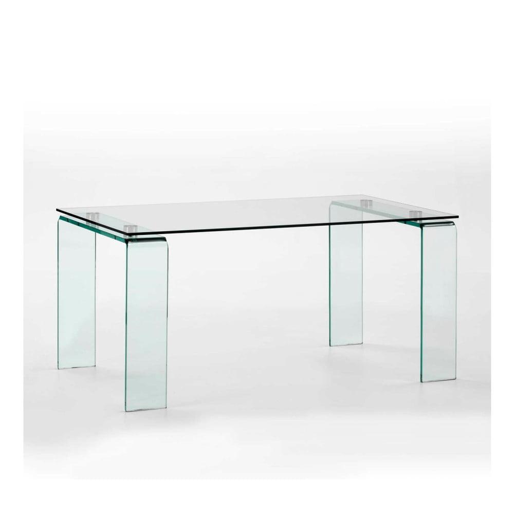 Jedálenský sklenený stôl Thai Natura Divino, 160 × 90 cm