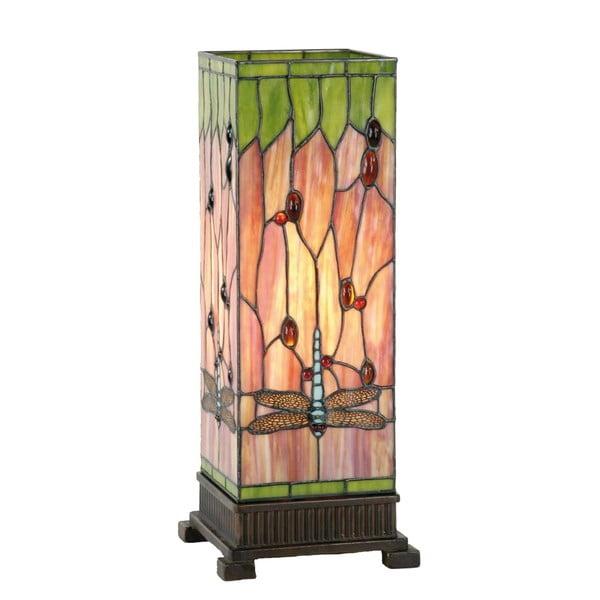 Tiffany stolná lampa Dragonfly