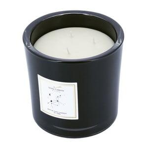 Vonná sviečka v čiernom skle s vôňou vanilky Stella Cadente Lev