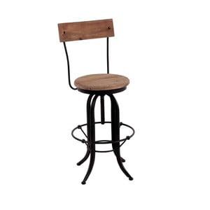 Barová stolička s detailmi z jedlového dreva Miloo Home Loft