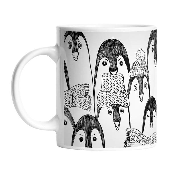 Keramický hrnček Penguin Between Penguins , 330 ml