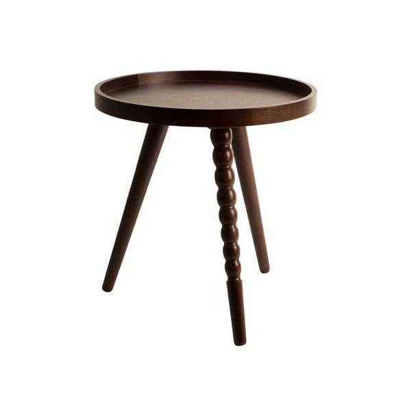 Drevený stolík Dutchbone Arabika, 40cm