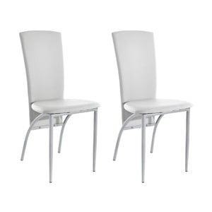 Sada 2 bielych jedálenských  stoličiek Støraa Nevada