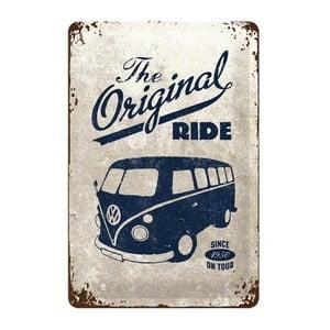 Plechová ceduľa The Original Ride, 20x30 cm