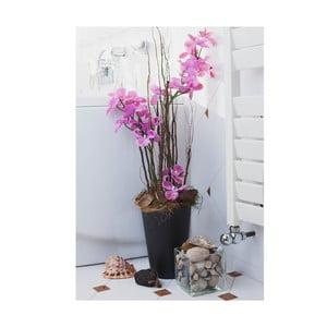 Kvetinová dekorácia od Aranžérie, váza s ružovou orchideou