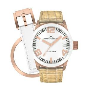 Dámske hodinky Marc Coblen s remienkom a krúžkom na ciferník naviac P82