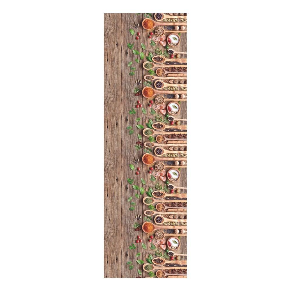 Vysokoodolný behúň Webtappeti Mestoli, 58 × 190 cm