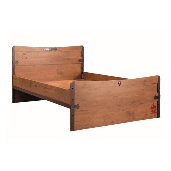 Jednolôžková posteľ Pirate Bed, 120 × 200 cm