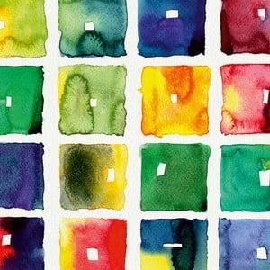 Obraz Farebné retro, 60 x 60 cm