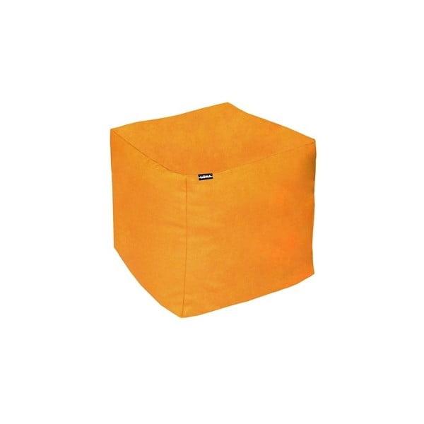 Puf na sedenie Lona, oranžový