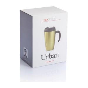 Zelený termohrnček XD Design Urban, 400 ml