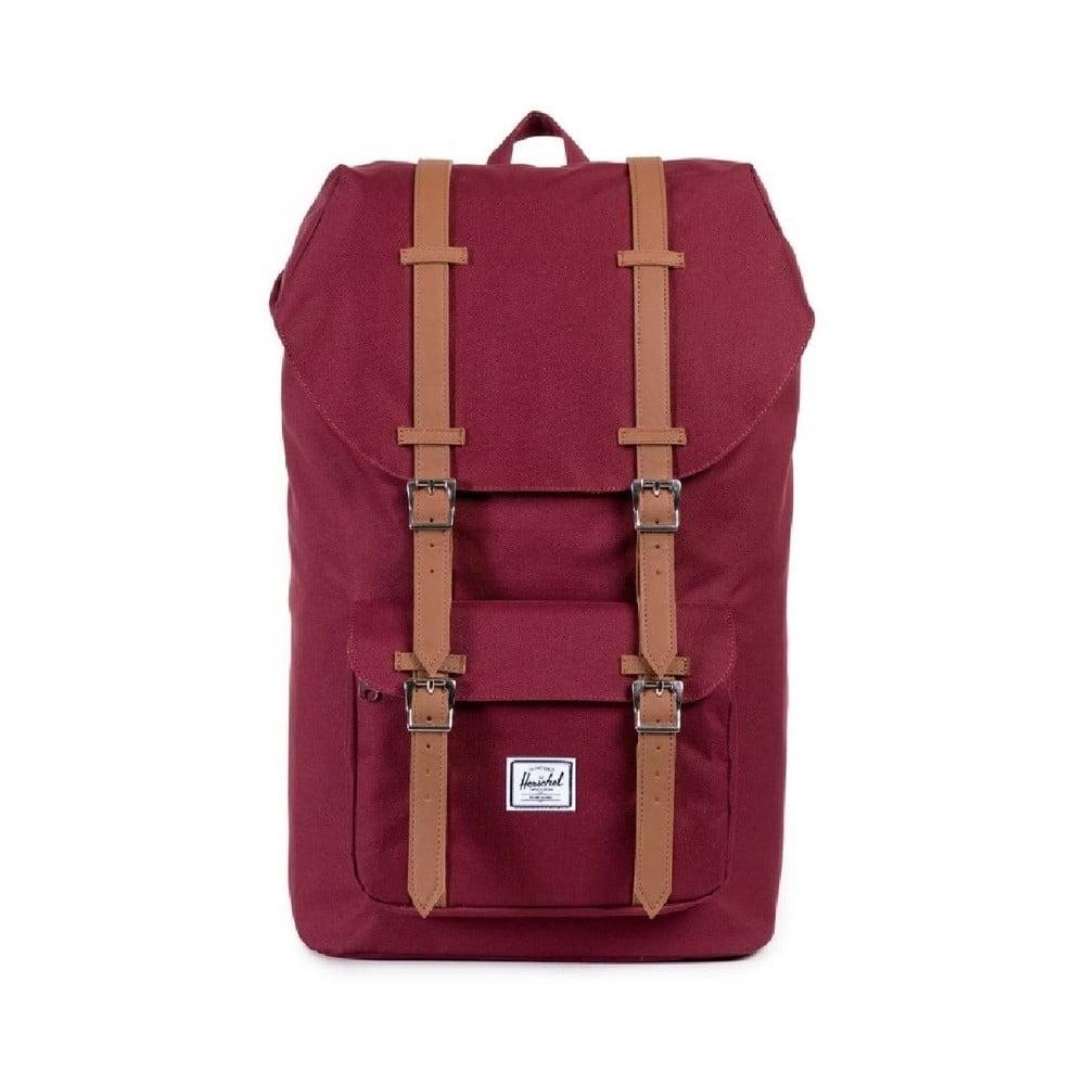 Červený batoh Herschel Little America, 19,5 l