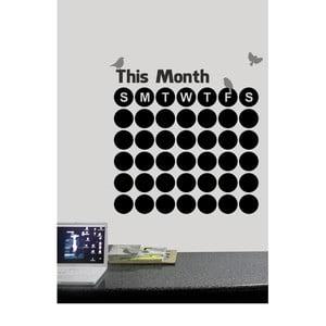 Nástenná tabuľová samolepka This Months
