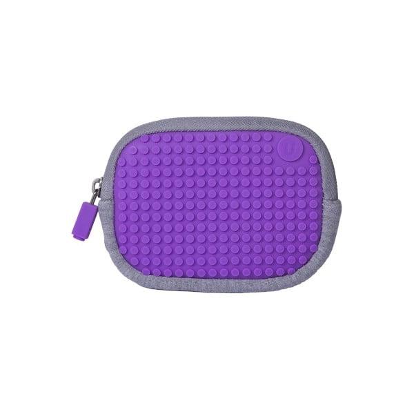 Pixelové univerzálne puzdro, grey/purple