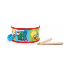 Drevený bubienok s paličkami Legler Drum