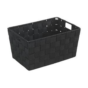 Čierny košík Wenko Adria, 20×30 cm