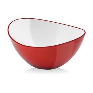 Červená šalátová misa Vialli Design, 16cm