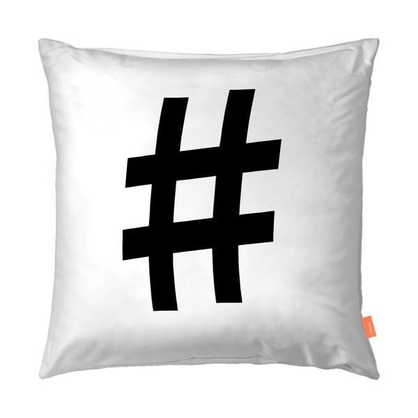 Sada 2 obliečok na vankúš Blanc Hashtag, 50 x 50 cm