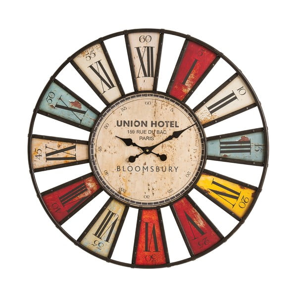 Nástenné hodiny Vibrant, 80 cm