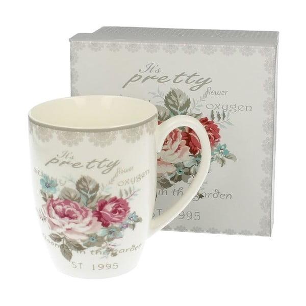 Porcelánový hrnček Roses, 0,4 l