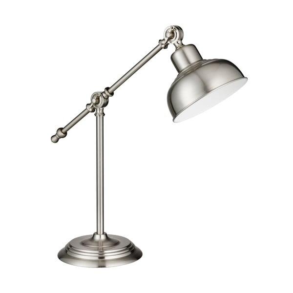 Stolová lampa Macbeth, strieborná
